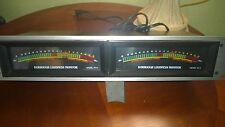 Dorrough Loudness Monitor Model 40-A - Meters, Pair, rack mount, work perfectly