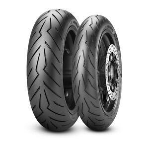 Coppia Moto Pirelli 120/70 R15 56S + 160/60 R15 67H DIABLO ROSSO SCOOTER (2021)