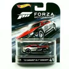 2016 Hot Wheels Forza Motorsport * 2012 Camaro ZL1 Concept * Retro Ent Car NEW