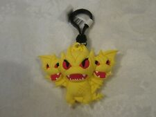 Monogram Figural Movie Godzilla King of Monsters King Ghidorah Bag Clip Keychain