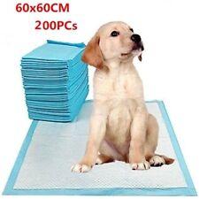 200Pcs 60x60cm Puppy Pet Dog Indoor Cat Toilet Training Pads Super Absorbent Oz