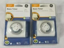 Lot of 2 Ge Basic Timer (15119)
