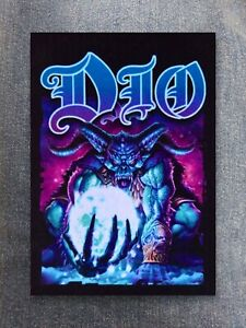 Dio patch sew on printed textile patch rock band heavy metal hard rock thrash