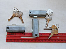 "(3)  new  2"" File Cabinet Lock  with 6 same Keys     Free shipping"