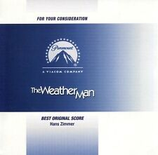 The Weather Man Score - Hans Zimmer FYC Best Original Score MINT