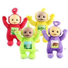 Set Of 4 Teletubbies Soft Toys 33cm Tall DipsyY Laa LaaPo Tinky Winky Plush Gift
