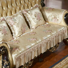 Luxury Flower Jacquard Sofa Cover 3 Seater Recliner Couch Slipcovers Loveseat