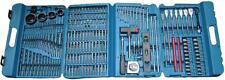 216pcs Makita P-44046 Drill & Bit Set DIY Phillips, Pozi Hole Saw Tape Measure
