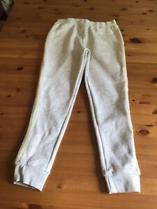 Matalan Girlswear Age 11 Years Soft Grey Trousers Sequin Trim Sides