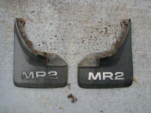 85-89 Toyota MR2 Rear Mud guard Mud flap set good used black