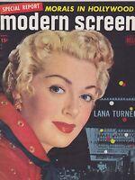 SEPT 1950 --- MODERN SCREEN vintage movie collectors magazine - LANA TURNER
