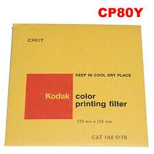 Kodak color printing filter 12,5 x 12,5 cm CP80Y CAT. 148 9178.