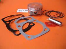 Piston 65.5mm x 43mm Rings Wrist Pin Clips Gaskets Kit Honda XR 200 Motocycle