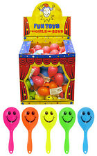 108 x KIDS MARACAS TOYS, FETE'S, FAIRS, CHARITY, PARTY BAGS FILLERS, SHOPS