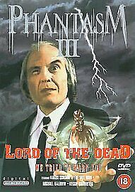 PHANTASM PART 3 DVD Lord of the Dead Angus Scrimm NEW SEALED FREEPOST