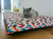Dog and cat waterproof pillow - Pixels, luxury dog sleeping, pet bed,dog bed