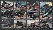 Gibraltar 2018 MNH Cannons Howitzer Pounder Cannon 12v Set Military War Stamps