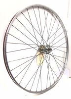VTG Rigida Chromage Superieur 700c Steel Front Bicycle Wheel Road Bike #P32