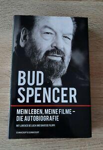 """Bud Spencer """"Mein Leben, meine Filme - die Autobiografie"""" handsigniert signed"""