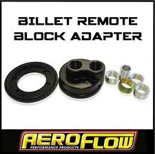 Aeroflow Universal Remote Oil Filter Adaptor Ford Holden Chev ETC AF64-2076