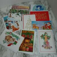 40 Assorted Random Christmas Cards With Envelopes New Unused Some Vintage Craft