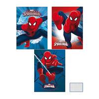 Quaderno pacco 10 pezzi maxi quadernone Marvel Spiderman a quadretti A4 3364