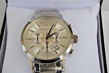All Star Original Huge Watch Emporio Armani Chronograph Knight Steel