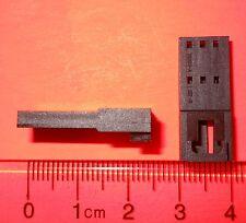 "Qty 20 Molex 3 Position Housing Connector Plug Black 2.54mm (0.100"") #0701070002"