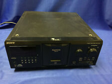 New listing Sony Cdp-Cx355 300-Disc Cd Changer/Player Power On Tested Only