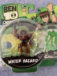 ben 10 omniverse waterhazard Figure Signed By Dee Bradley Baker
