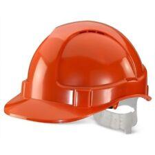 Click Basic Vented Safety Helmet Orange
