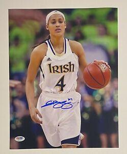Skylar Diggins Signed 11x14 Photo Autograph PSA/DNA Sticker ONLY