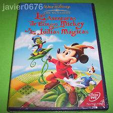 LAS AVENTURAS DE BONGO, MICKEY Y LAS JUDIAS MAGICAS DVD CLASICO DISNEY NUMERO 9