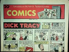 Amarillo Sunday News Globe Comics May 6 1973 Peanuts Dick Tracy 021220AME