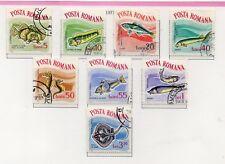 Rumania Fauna Acuatica Peces Serie año 1964 (DS-87)
