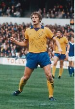 MARTIN DOBSON a mano firmato Everton 12x8 foto 1.
