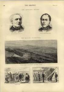 1873 Sir David Salomons Hamilton Hume Small Portraits