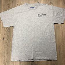 Wrangler Men's T-shirt Team Penning Campdraft  L Bulls Fear Me Women Want Me B8