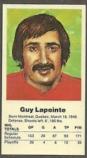 1972 Team Canada Guy Lapointe Card