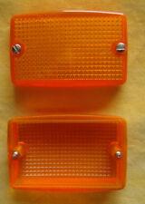 Ancien LEGRAND Chambord Plexo,Lot 2 Diffuseurs Voyant Orange,VINTAGE,NEUF,89832