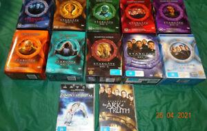 stargate sg1 all 10 seasons plus 2 movies