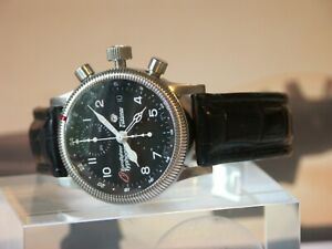 Typhoon Eurofighter Ltd Edition Pilot Watch 7750 Automatic Chronograph by Tutima