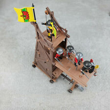 Playmobil Vintage Siege Tower Knight Medieval 3887 Set Near Complete