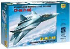 ZVEZDA 7275 - Russian 5th-generation Fighter SU-50 (T-50) / Scale Model Kit 1/72