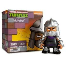 Kidrobot and Nickelodeon TMNT Shredder Medium 7 Inch Action Figure Gray
