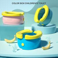 Portable Baby Kids Potty Training Seat Banana Folding Toilet Urinal Chamber Pots
