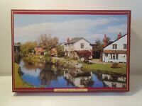 Rare Waddingtons De Luxe 1500 Piece Jigsaw Puzzle ' Cottages, Hereford ', 1981
