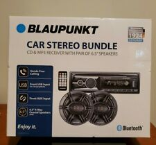 🔥BRAND NEW🔥 Blaupunkt Omaha206 CD & MP3 Receiver with Pair 6.5