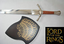 New Sharp Stainless Steel the Lord of the Ring Long Sword Knife Dirk with Board