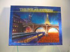 Hallmark Puzzle The Polar Express Christmas Morning Foil 300 Pcs Complete Train